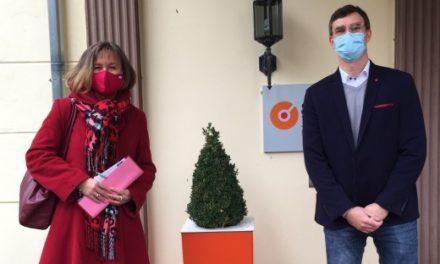 SPD-Politikerin Dilcher zu Besuch in Bad Arolsen