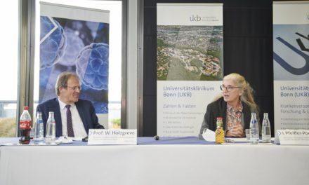 Ministerin für Kultur und Wissenschaft des Landes Nordrhein-Westfalen Isabel Pfeiffer-Poensgen besuchte das Universitätsklinikum Bonn