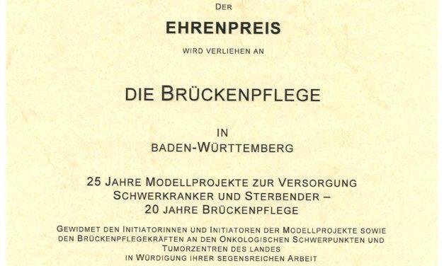 25 Jahre Brückenschwestern: Palliativ-Begleitung für Schwerkranke / Presseinformation
