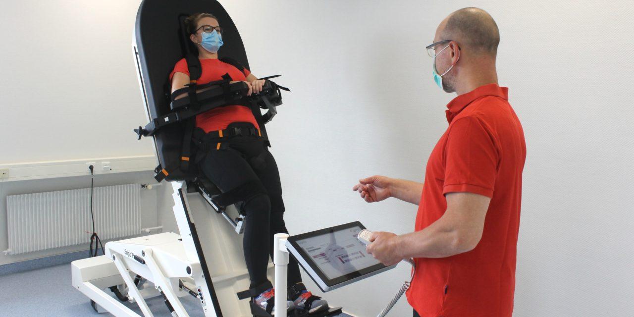 Pressebericht_Neues robotisches Therapiegerät im Augustahospital Anholt