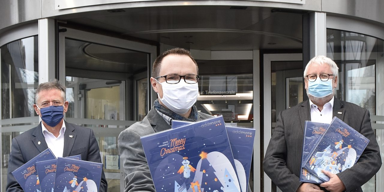 450 Adventskalender für das Rheinland Klinikum