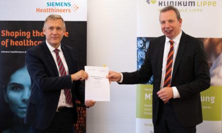 Klinikum Lippe und Siemens Healthineers gehen langfristige Technologiepartnerschaft ein