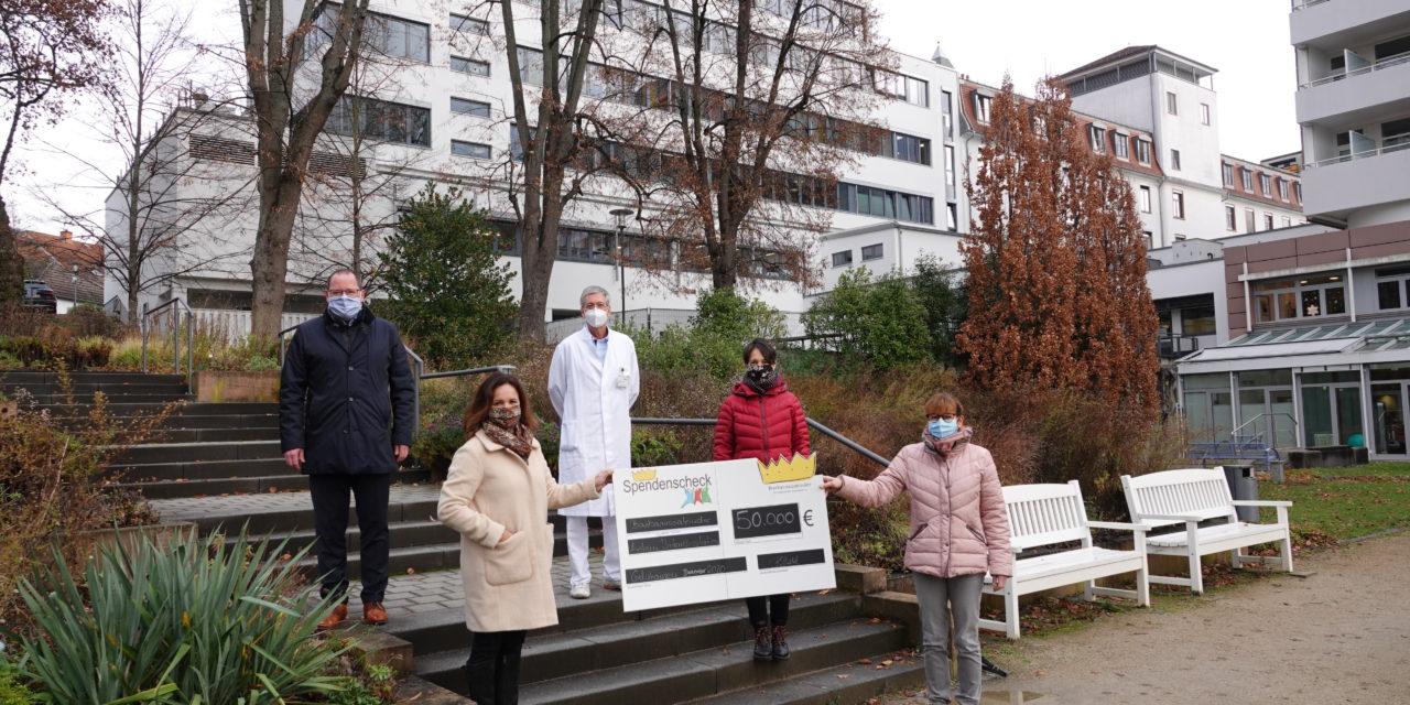 Barbarossakinder übergeben 50.000 EUR an Gelnhäuser Kinderklinik