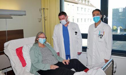 Schockdiagnose Lungenembolie: Sabine Berger wird mit hochmodernem Verfahren im Marienhospital Aachen erfolgreich therapiert