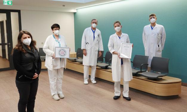 DGK-Zertifizierung der Herzüberwachungsstation in Gelnhausen
