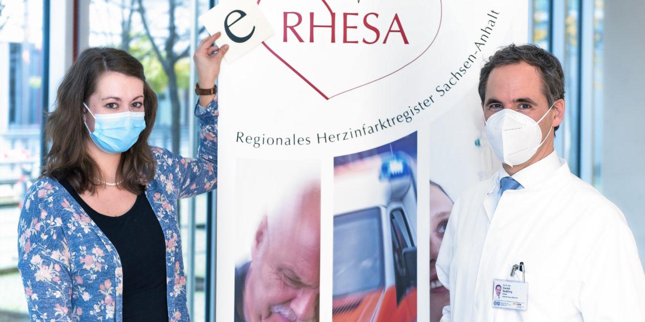 Senkung der Herzinfarktzahlen: Das Regionale Herzinfarktregister Sachsen-Anhalt (RHESA) wird mit eRHESA zum elektronischen Register