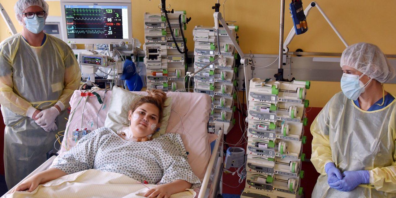 Spenderherz rettet das Leben von Andrada in letzter Minute