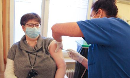 500. Corona-Impfung im Helios Klinikum Erfurt