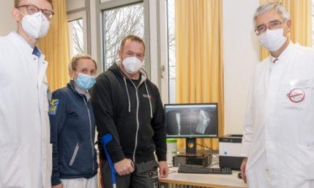 Erstmals in Deutschland: Ein neues Knie an nur einem Tag