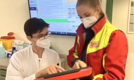Schlaganfall mit digitalen Informationen aus Rettungswagen schneller behandeln