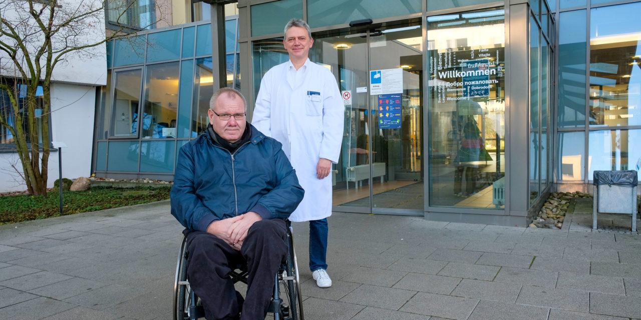 Die besondere OP / Wie im KRH Klinikum Neustadt am Rübenberge sein Leben gerettet wurde