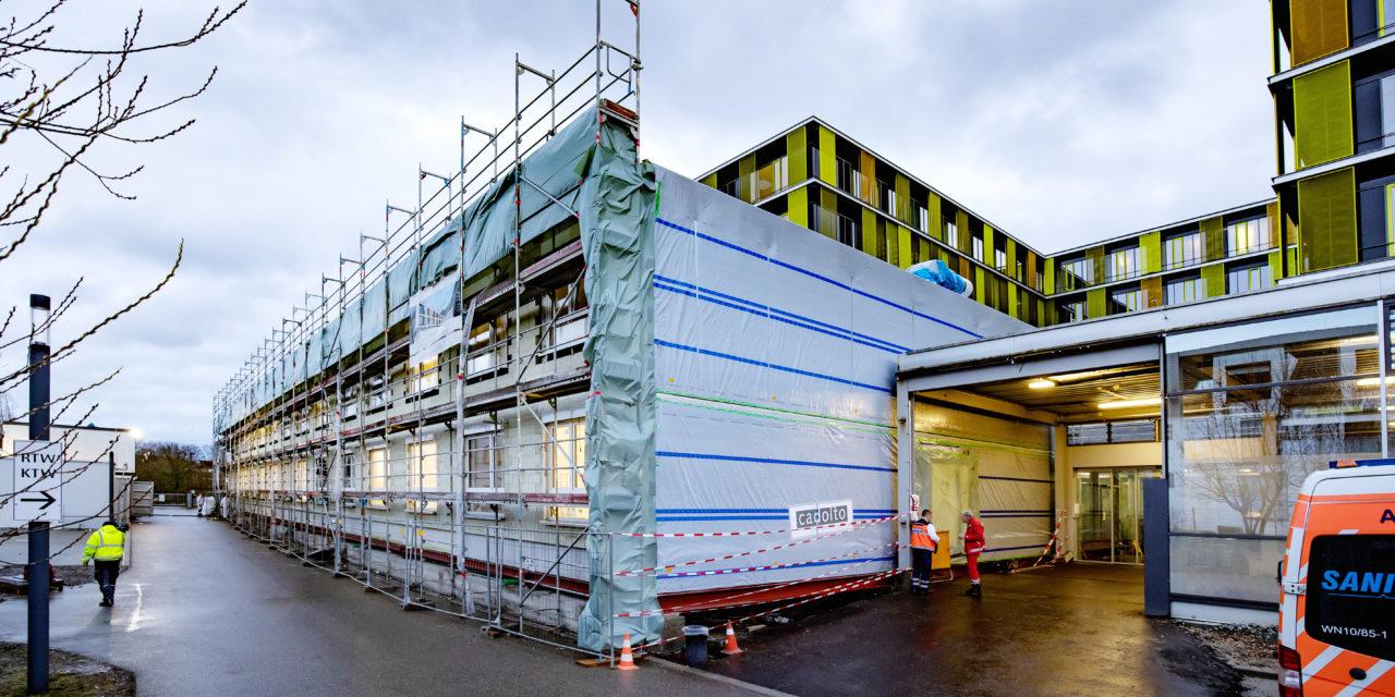 Separate Infektionsstation erhöht Sicherheit für alle Patienten