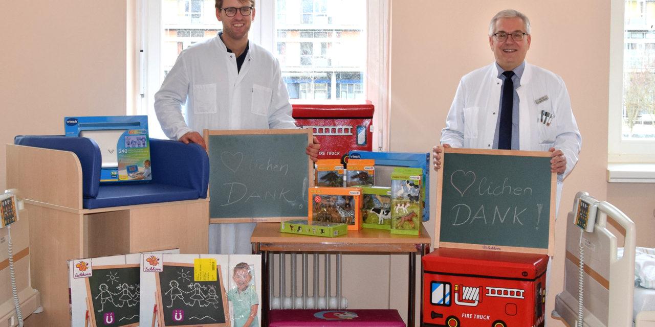 Kindgerechte Umgebung fördert Genesung für junge Patienten