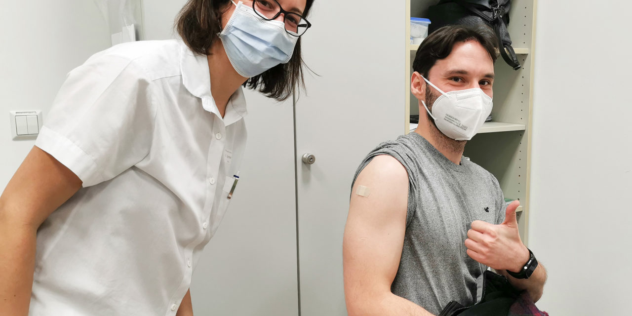 Hohe Impfbereitschaft am Universitätsklinikum Jena