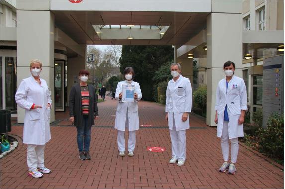 Klinikum Frankfurt Höchst erneut als AltersTraumaZentrum nach den Kriterien der Deutschen Gesellschaft für Unfallchirurgie zertifiziert