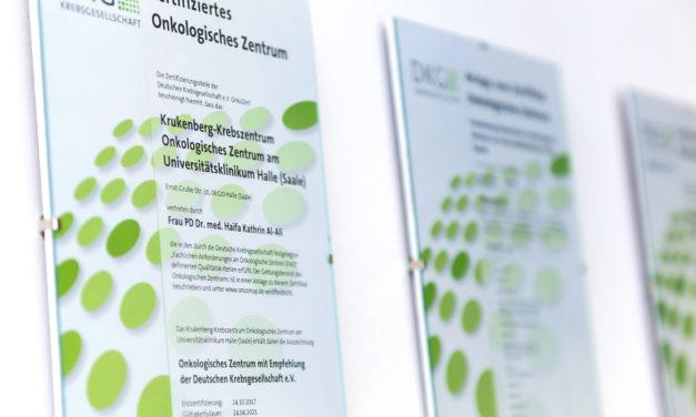 Krukenberg Krebszentrum Halle: Einsatz für Tumorpatientinnen und -patienten in der Pandemie