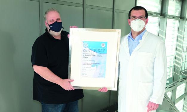 Adipositaszentrum Lippe als Kompetenzzentrum zertifiziert