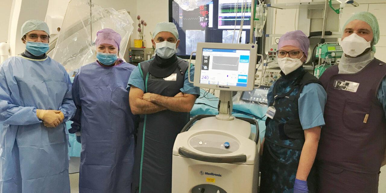 Neue Methode Kryoablation eingeführt:  Kardiologie am Klinikum Chemnitz komplettiert Therapieoptionen bei Vorhofflimmern am Herzen