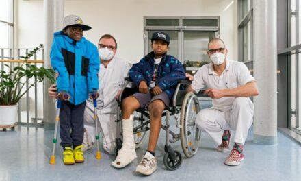 """Zwei """"Friedensdorf""""-Kinder zur Behandlung im Leipziger Diakonissenkrankenhaus"""