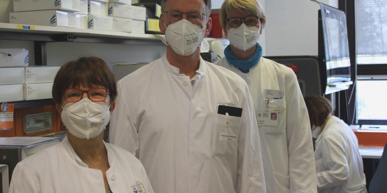 Städtisches Klinikum Solingen – Zentrallabor & Corona