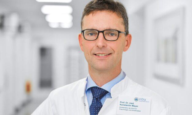 ViDia Kliniken: Prof. Mayer wird Mitglied in der Ständigen Kommission Organtransplantation Lunge