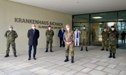 Generalarzt besucht Krankenhaus Aichach