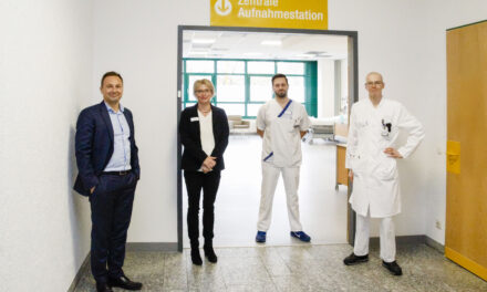 Aufnahmestation in der zentralen Notfallambulanz eröffnet