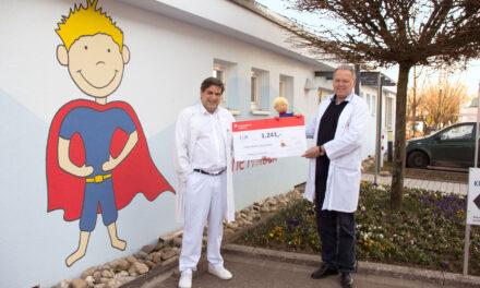 Ärzte spenden für Kinder