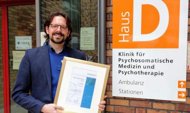 Deutscher Telemedizin-Preis 2021: OMPRIS überzeugt mit E-Health-Lösungen in der Online-Therapie und erreicht den 3. Platz