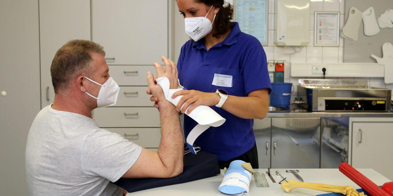 Ambulantes Rehazentrum Ortenau für Schwerpunkt Handtherapie ausgezeichnet