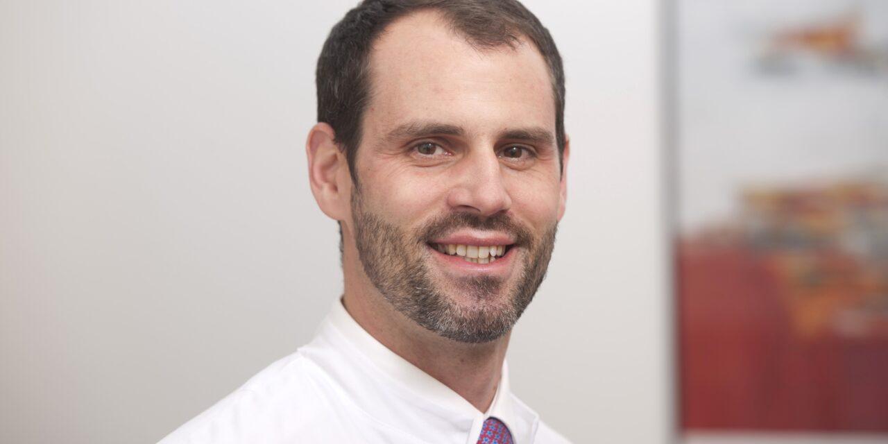 Nicholas Bohnert folgt im Sommer als Chefarzt auf Lothar Köhler