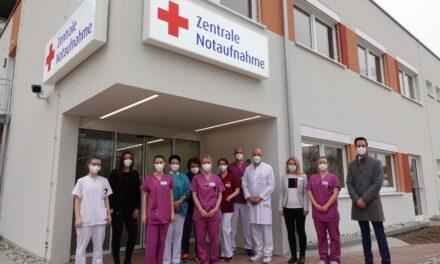 Ortenau Klinikum in Offenburg: Neue Zentrale Notaufnahme nimmt Betrieb auf