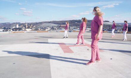 Gemeinsam Tanzen in der Pandemie Video des Klinikums Mutterhaus zeigt pure Freude