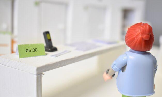 Kleinste Krankenhaus-Station der Welt