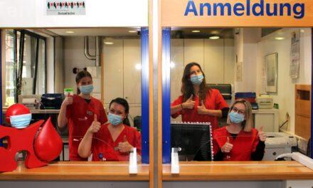Treue Blutspender*innen trotz Pandemie