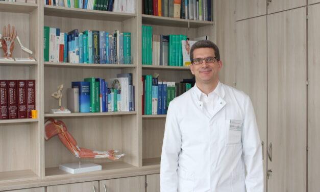 Nahtloser Übergang in der Unfallchirurgie und Orthopädie: Prof. Dr. Max Daniel Kauther übernimmt Chefarztposition