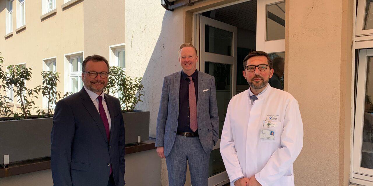 Neue Leitung der Klinik für Allgemein- und Viszeralchirurgie