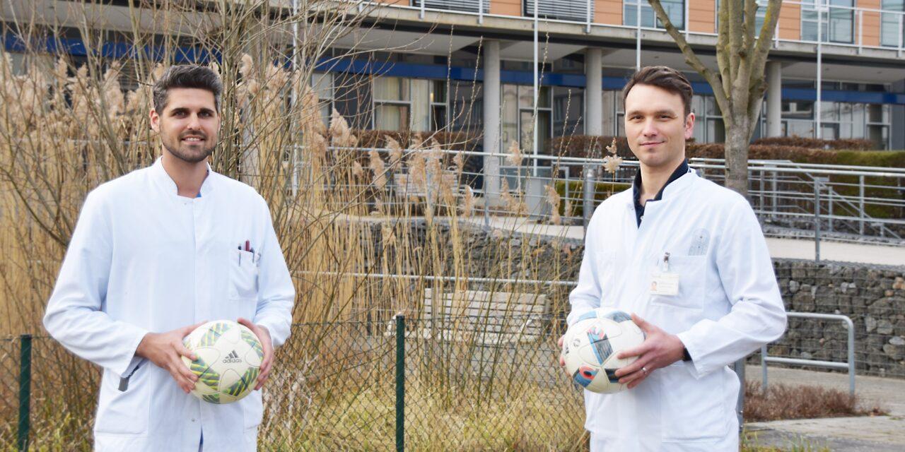 Unimedizin Rostock: Unimediziner unterstützen Landesfußballverband MV