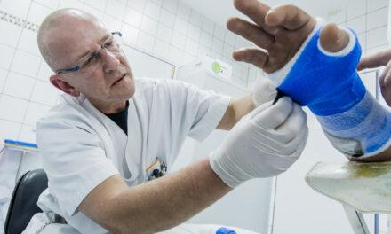 Unfallklinik sichert Versorgung in Corona-Pandemie