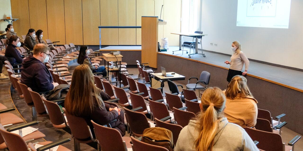 Neu im Nordstadt / Pflegewissenschaftliche Arbeitsgruppe stellt Onboarding-Veranstaltung für neue Mitarbeiter*innen auf die Beine