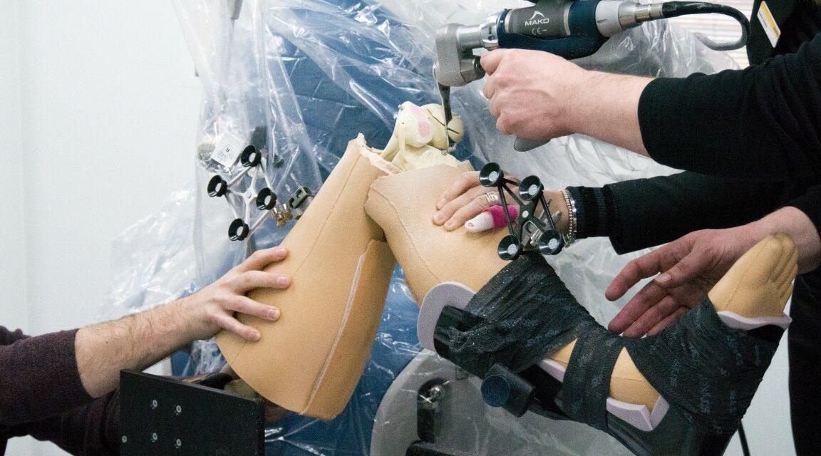 MAKO-Technologie beim künstlichen Gelenkersatz