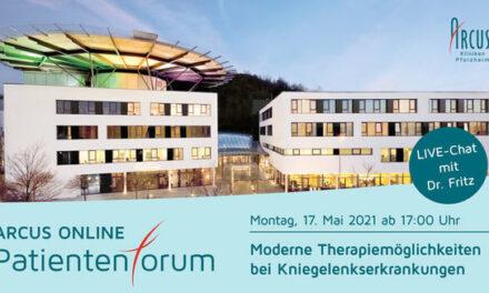 ARCUS Online Patientenforum – 17. Mai 2021, 17 Uhr