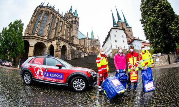 Thüringens erstes lebensrettendes ECMO-Mobil