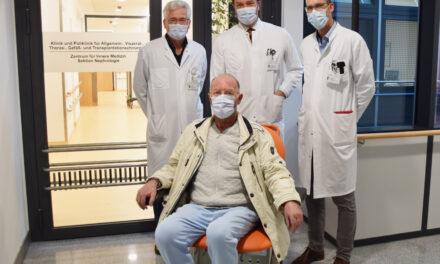 Erste lokale thermische Chemotherapie im Brustkorb angewandt