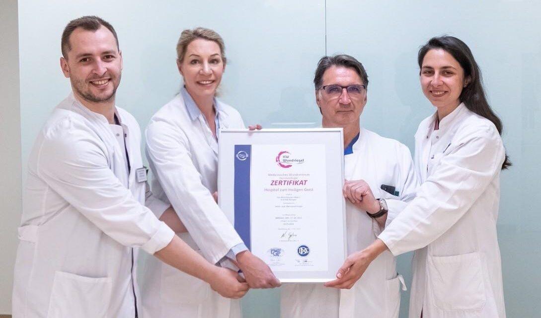 Hochspezialisierte Wund-Zertifizierung der Venen- und Dermatochirurgie