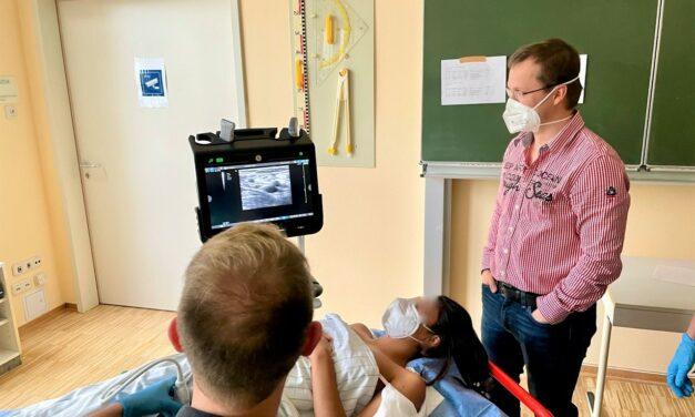 Ultraschall auf dem Vormarsch – Nachbericht Grundkurs Anästhesie