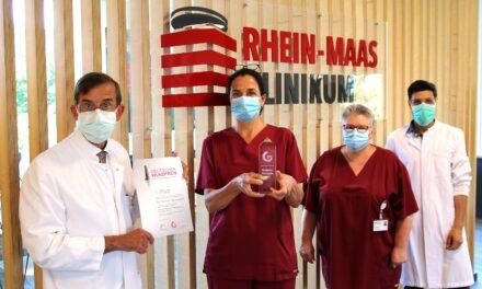 Deutscher Wundpreis für Wund-Expertenteam des Rhein-Maas Klinikums
