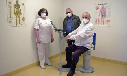 Ortenau Klinikum in Ettenheim: Förderverein spendet Beckenbodentrainer