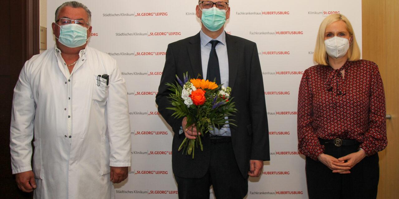 Neuer Chefarzt der Klinik für Allgemein-, Thorax- und Gefäßchirurgie am Klinikum St. Georg