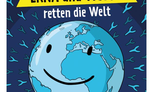 """""""Erna und Viktor retten die Welt: Comic der Universitätsmedizin Mainz klärt über die Vorteile von COVID-19-Impfungen auf"""""""